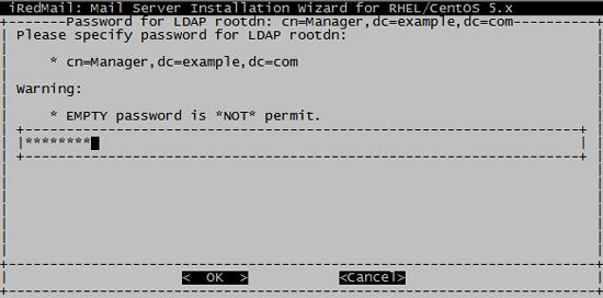 пароль админа LDAP
